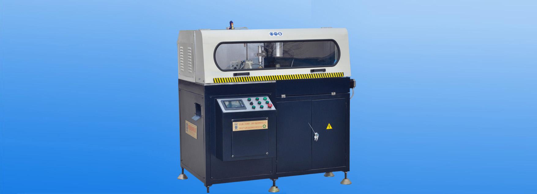 铝门窗设备厂 济南金迈达机械 重型省料角码锯