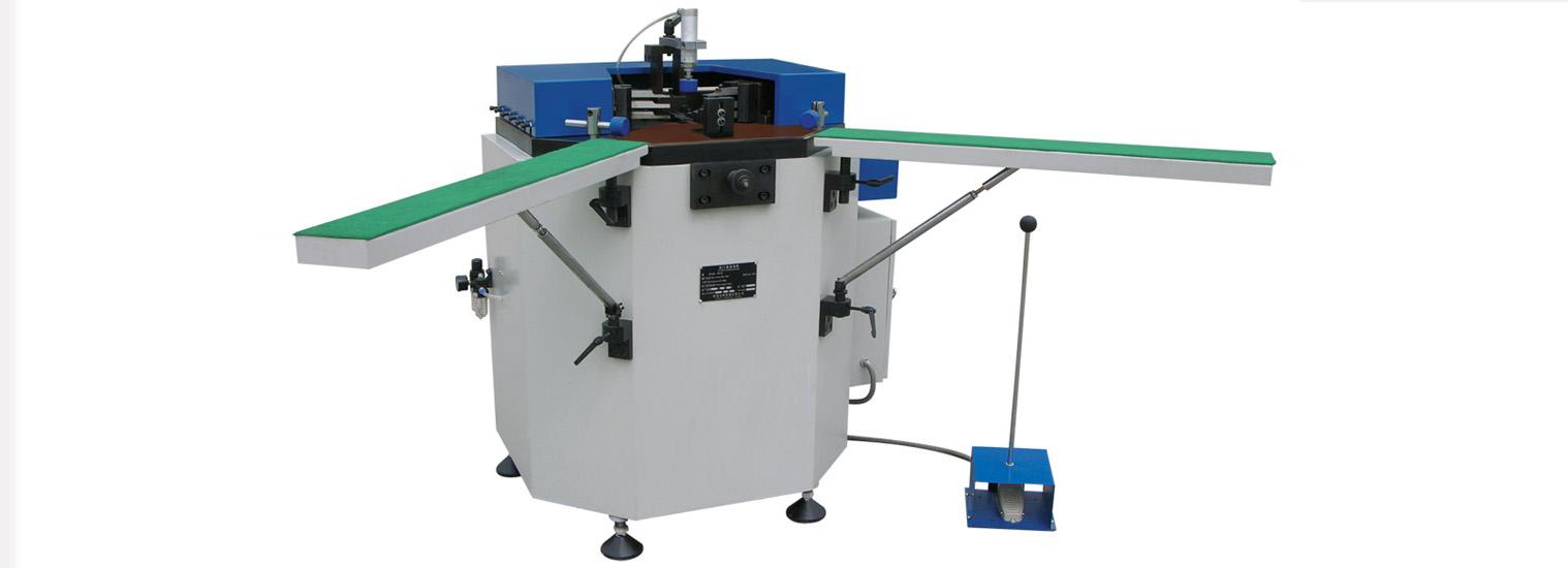 铝门窗重型液压组角机(济南德高机器)