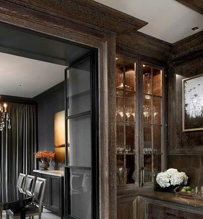 欧式古典风格门窗设计 严谨线条下的轻奢生活