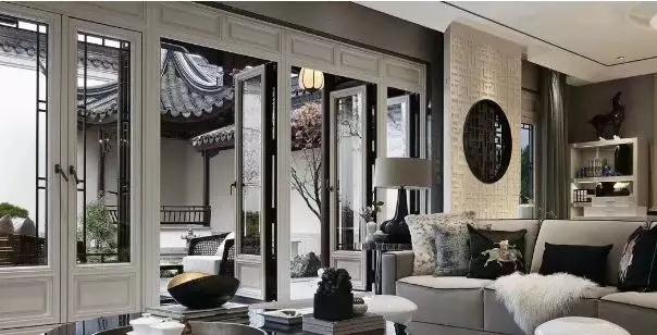 让人美醉的新中式门窗 ,古典又儒雅的穿越感